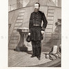 Vintage 1800s Black & White Illustration of David D. Porter Civil War Military Portrait - NATIONAL HISTORY OF THE WAR FOR THE UNION by E.A. Duyckinck.