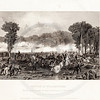 Vintage 1800s Black & White Illustration of the Battle of Williamsburg - NATIONAL HISTORY OF THE WAR FOR THE UNION by E.A. Duyckinck.