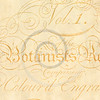 Vintage Cream Parchment with Text Textured Background