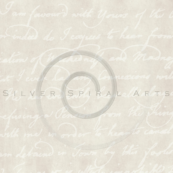 Vintage Parchment with Script Writing Background