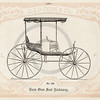 Vintage 1800s Sepia Illustration of Carriage print from ILLUSTRA