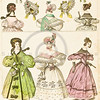 Vintage Color Illustration from MODES & COSTUMES HISTORIQUES French Fashion
