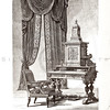 Vintage 1800s Sepia Illustration of Furniture - GEWERBEHALLE ORGAN FUR DEN FORTSCHRITT by Gewerbehalle, published in Germany.