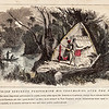 Vintage 1800s Color Illustration of Native American Sorcerer Healing - INDIAN RACES OF NORTH & SOUTH AMERICA by Brownwell.