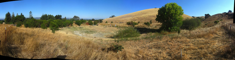 August 26, 2014 - 180 degree panorama for time lapse gallery.