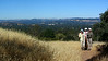 Heading up the Ohlone Link Trail