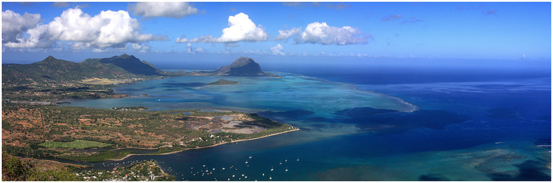 Le Morne vue de la Tourelle