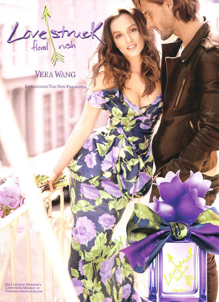 VERA WANG Lovestruck  Floral Rush 2013 UK 'Introducing the new fragrance