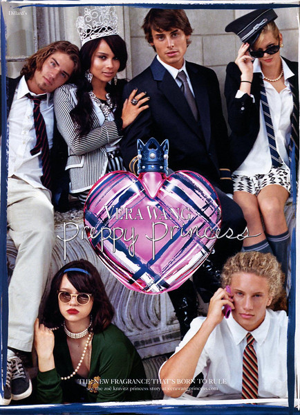 VERA WANG  Preppy Princess 2011 US (Dillard's stores) 'The new fragrance that's born to rule'