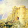 CCM270957 <br /> Credit: Carisbrook Castle, Isle of Wight (w/c on paper) by Turner, Joseph Mallord William (1775-1851)<br /> Carisbrooke Castle Museum, Isle of Wight, England/ The Bridgeman Art Library<br /> Nationality / copyright status: English / out of copyright