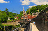 WV HARPERS FERRY NATIONAL HISTORICAL PARK ON RAILROAD BRIDGE APP TRAIL JUNEAC_MG_4439bMMW