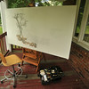 "UNTITLED:   "" Work - In - Progress""   /    OIL  ON  CANVAS  -   42""  X  78"""