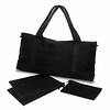 bag blk canvas 2 inserts