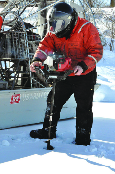 Mississippi River ice surveys are a sign of spring
