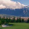 Panorama of the 13th Green at TPC Snoqualmie