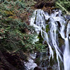 A Frozen Madison Falls, Olympic National Park, Port Angeles, Washington