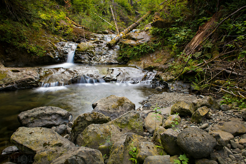 """Gatton Creek Falls in the Lake Quinault area of Olympic National Park. <br /> <br /> Photo by Kyle Spradley 