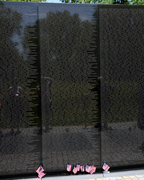 The Vietnam Veterans Memorial Wall - Washington, DC - May 14, 2015 - Christopher Wayne Beavers - Panel 20E - Line 21