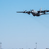 Maxwell AFB  - a C-130 Hercules taking off from the airfield. Montgomery, AL - 3 Mar 2013