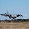 Maxwell AFB  - a C-130 Hercules landing at the airfield.<br /> Montgomery, AL - 3 Mar 2013