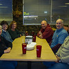 Dinner with Deb & Curt and Karen & Steve @ Mr. J's Restaurant. Red Bay, AL - 20 Feb 2013