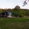 Eastbank COE Campground: C-31 at sunset. Bainbridge, GA - 20 May 2013