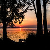 Eastbank COE Campground: sunset from C-31. Bainbridge, GA - 20 May 2013