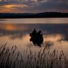 Late evening fishin' at Pastorius Lake, Durango, CO