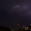 Lightning over Sydney, Australia on the evening of December 20th 2013