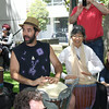 Drum Circle with Be'chol Lashon at Israel in the Gardens
