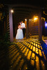 Autumn wedding at Kilbuck Creek near Rockford, IL. Wedding photographer - Ryan Davis Photography