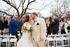 Kristi and Seph's wedding at The Orchard in Azle, Texas March 1, 2014. (Photo by Sharon Ellman)