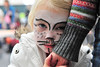 Walt Hester | Trail Gazette Hana Bolinder, 3, of Estes Park shyly displays her kitten face at Imagine This on Saturday. The annual event raises money for the Cultural Arts Council while exposing children to a wide variety of artistic expression.