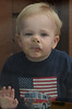 Walt Hester | Trail-Gazette Evan Gipp, 1, presses his face against a glass door on Wednesday.
