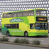 The Green Bus YN51KVE Moor St Birmingham Apr 14