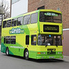 The Green Bus S922YOO Ironmongers Row Coventry 2 Apr 14