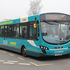 Arriva Midlands North 3796 Cannock Bus Station Apr 14