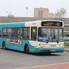 Arriva Midlands North 2228 Cannock Bus Station Apr 14