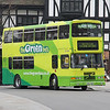 The Green Bus S922YOO Ironmongers Row Coventry 1 Apr 14