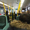 West Midlands Travel 5504 Lower Deck Interior Apr 14