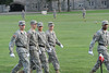West Point cadets practice on The Plain in front of Washington Hall for an upcoming parade. Remote camera shots of all cadets  Photo:  Greg E. Mathieson Sr. /  MAIphoto.com