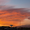 West Texas Haboob Meets Sunset