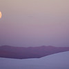 White Sands National Monument Full Moon