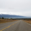 Approaching Lake Kluane along the ALCAN