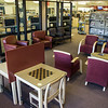 A quiet reading area, frequented by seniors inside WMC.  Taken on July 4, 2014 by James Cadden.