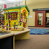The entrance to the program room, from inside the kid's area at WMC.  Taken on July 4, 2014 by James Cadden.