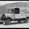 Weber Baking Co. truck, Southern California, 1931