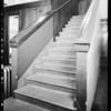 Staircase at Kress store, Southern California, 1931