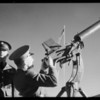 Anti-aircraft gunnery at Fort MacArthur in San Pedro, Los Angeles, CA, 1935