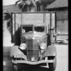 Diamond T6 truck, Swift & Co. assured, Southern California, 1934